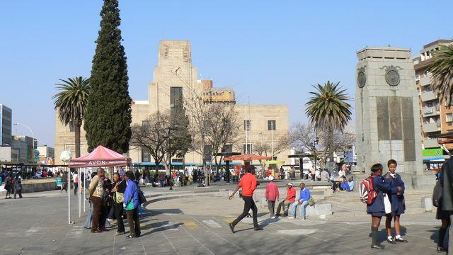 Rondreis Zuid-Afrika Bloemfontein centrum