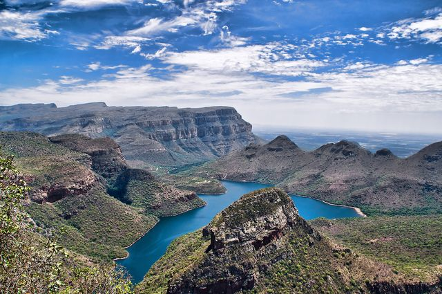 rondreis zuid-afrika Panoramaroute Blyde river canyon