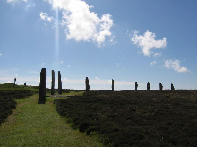 Standing Stones of Stenness Schotland