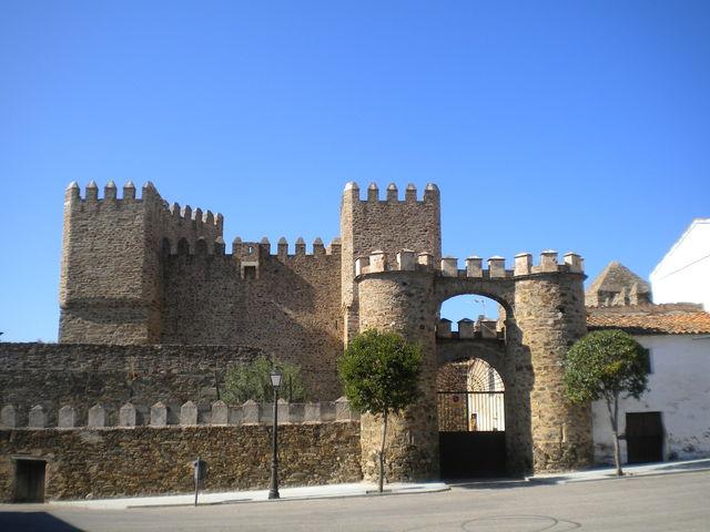 kasteel Castillo de Monroy Caceres