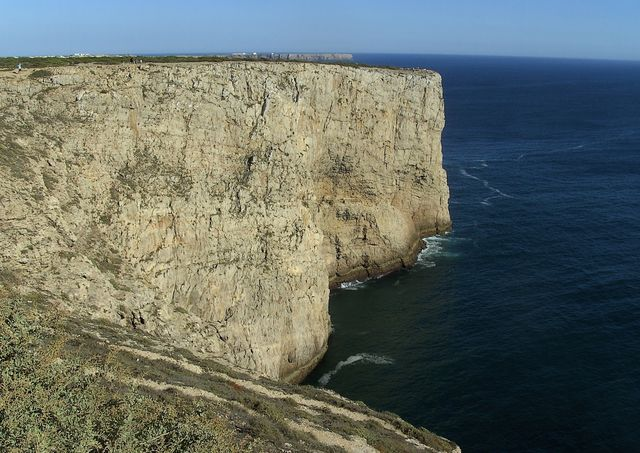 Rondreis Portugal Algarve Sagres cliff