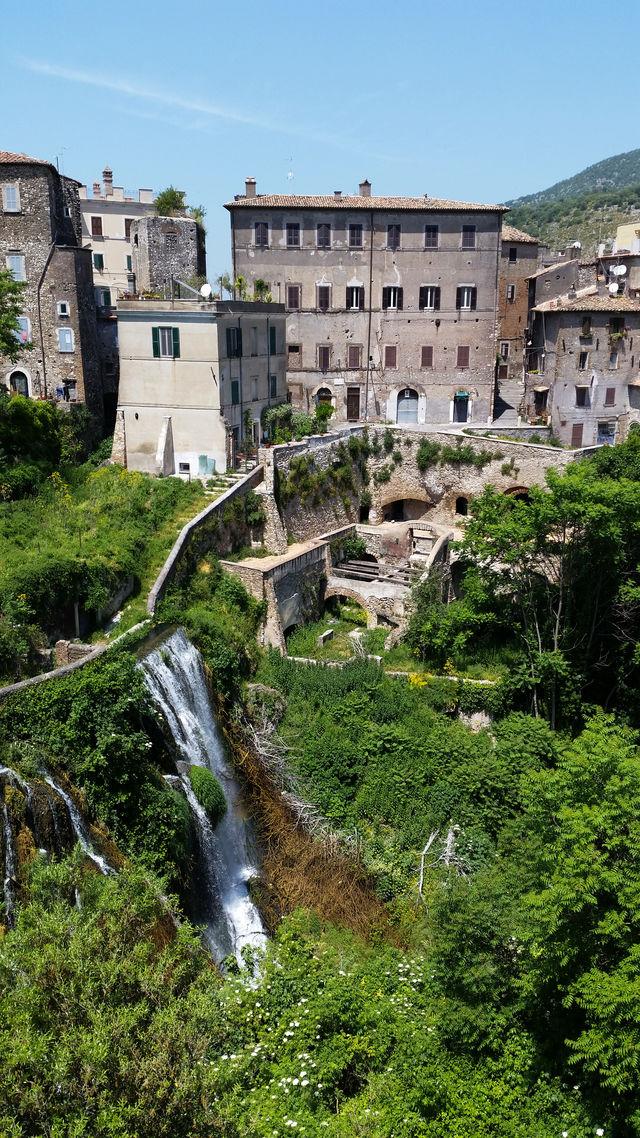 Italië Lazio Tivoli Villa Gregoriana