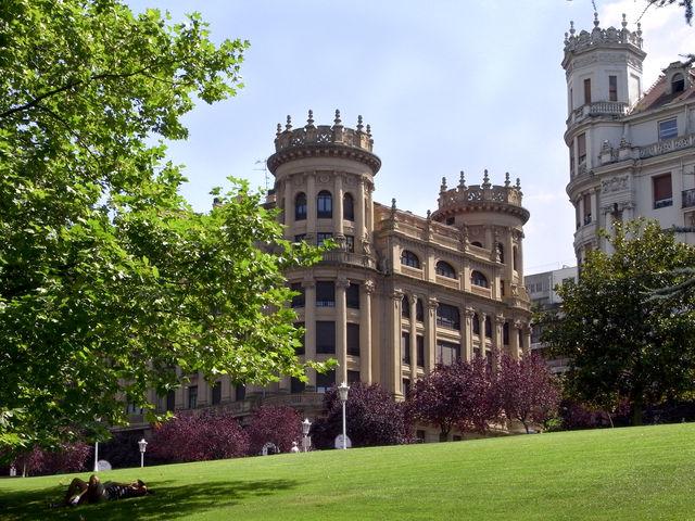 Bilbao Dona Casilda park Casa Lezama Leguizamon