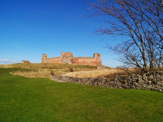 Fort ruïne East Lothian Schotland
