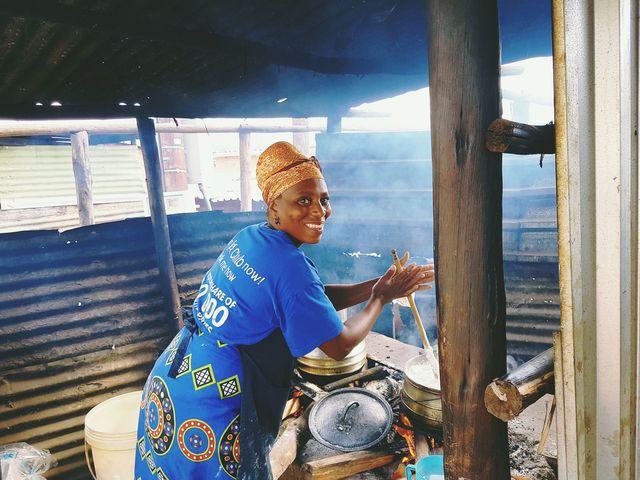 Rondreis Zuid-Afrika markt in Elim