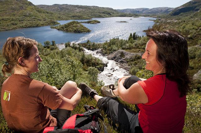 Berg Sirdal Noorwegen