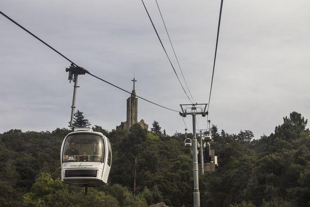 Portugal Guimaraes kabelbaan