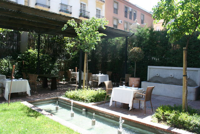Villa Oniria Granada tuin