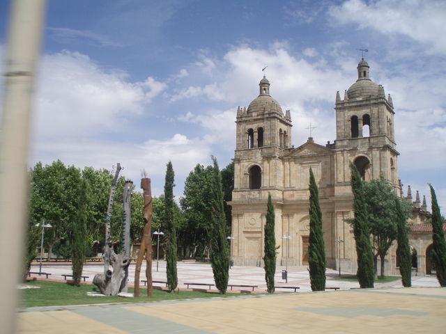 Kerk Basiliek Salamanca Spanje