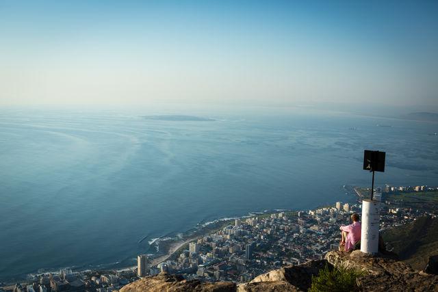 Rondreis Zuid-Afrika Kaapstad Tafelberg uitzicht