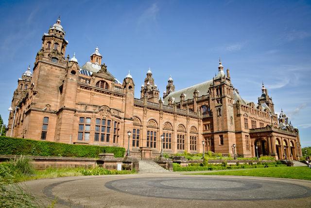 Museum Kelvingrove Glasgow Schotland