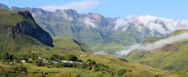 rondreis zuid-afrika Kwazulu-Natal landschap