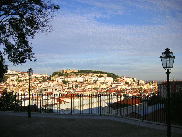 Lissabon stad uitzicht Portugal
