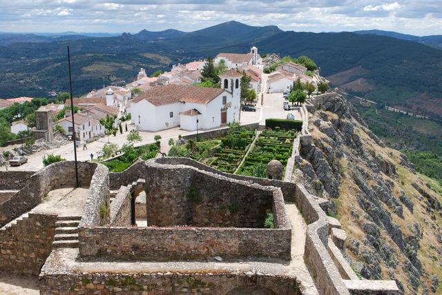 Portugal Alentejo Marvao stad