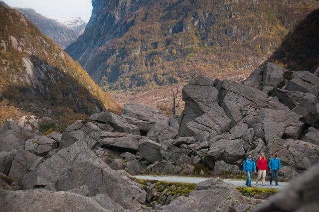 Wandelen Haugesund Noorwegen