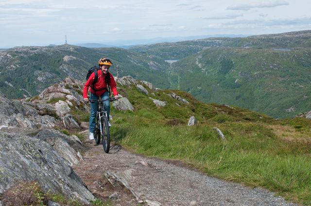 Mountainbiken Bergen Noorwegen