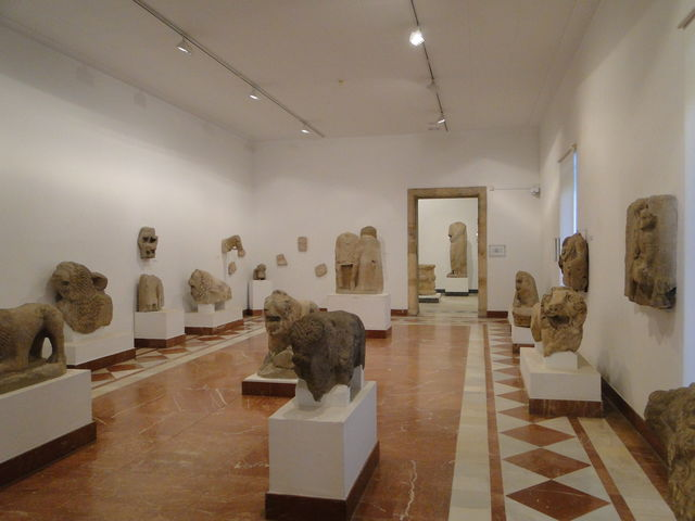 Sevilla Andalusië archeologisch museum