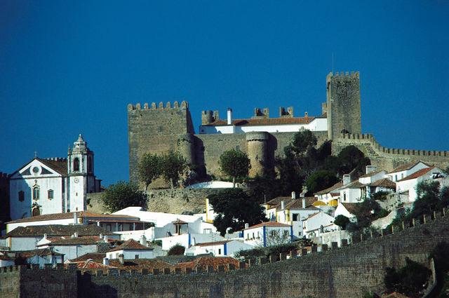 Rondreis Portugal Lissabon Obidos stad