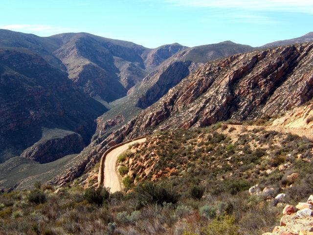 Rondreis Zuid-Afrika Swartberg pas