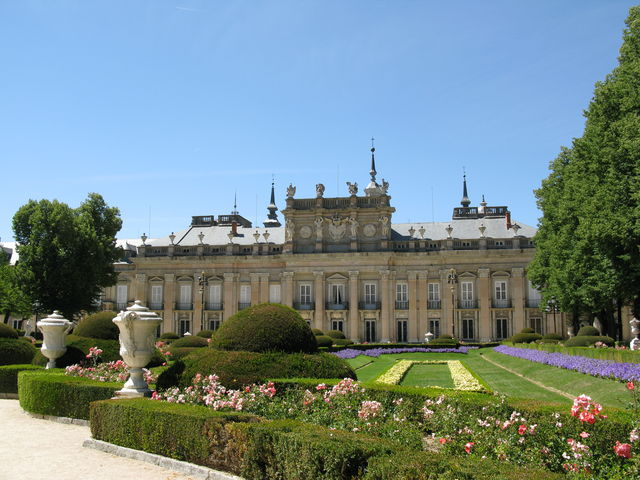 Segovia Palacio Real la Granja Paleis