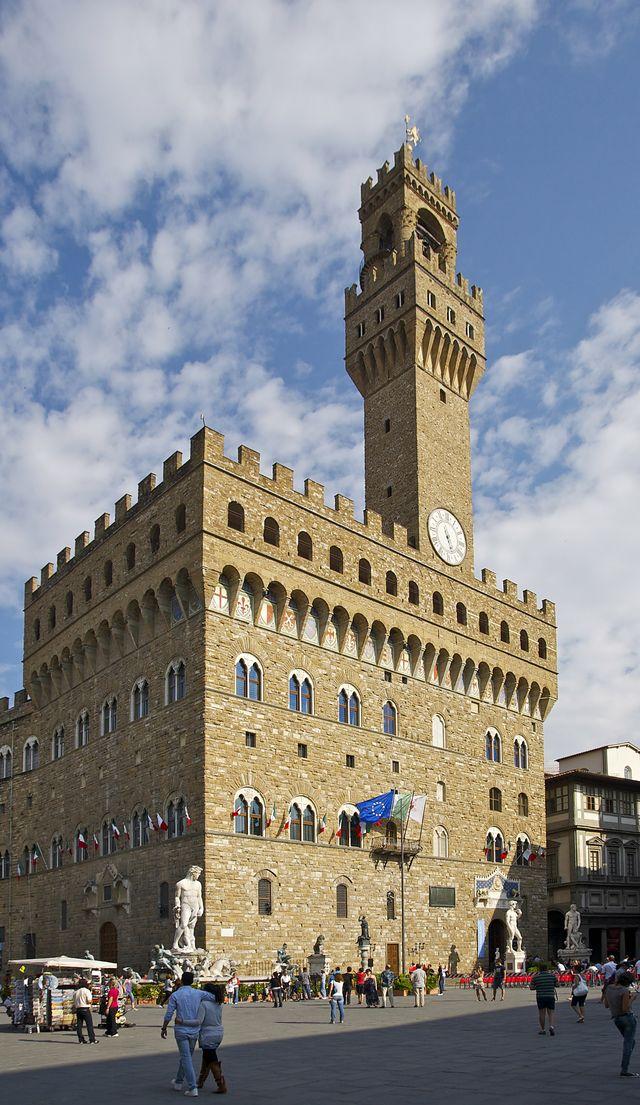 Rondreis Italië Toscane Florence Palazzo Vecchio