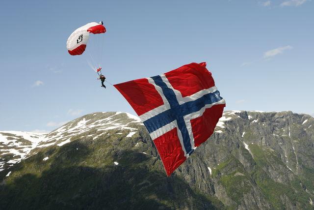 paragliden Voss Noorwegen
