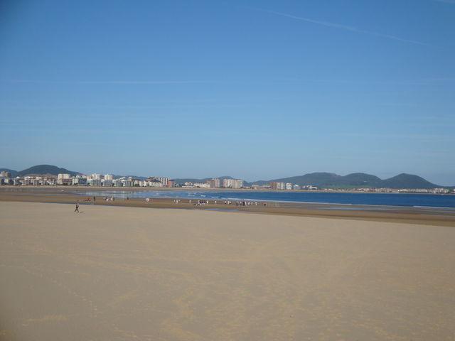 Spanje Cantabrië Limpias strand