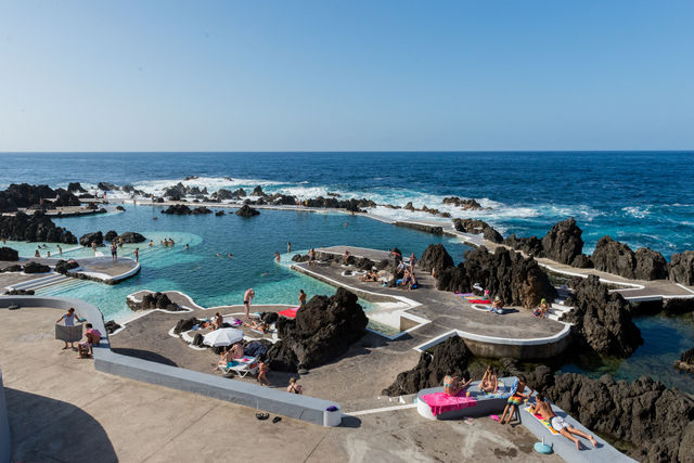 Rondreis Portugal Madeira Porto Moniz lava pools