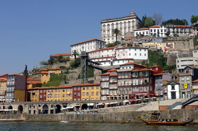 Rondreis Portugal Porto Dom Luis brug Ribeira