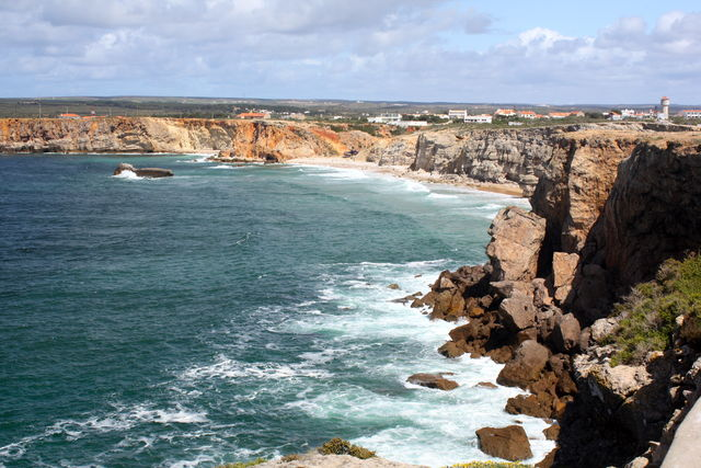Sagres kust Portugal