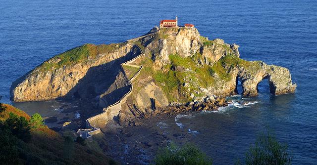 Bilbao eiland San Juan de Gaztelugatxe Bermeo