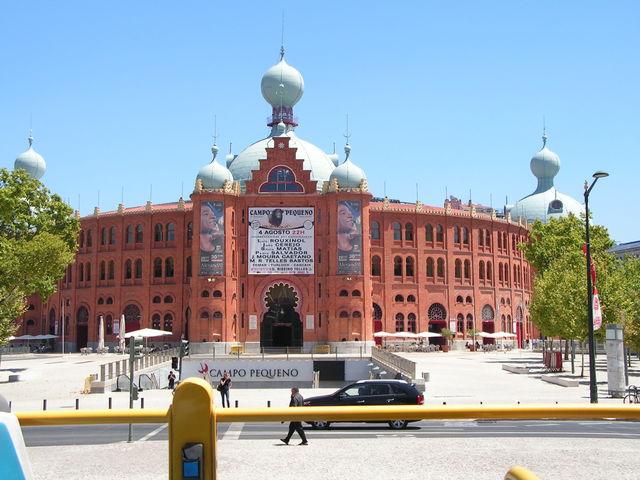 Rondreis Portugal Lissabon stieren arena