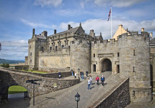 Kasteel Stirling Schotland