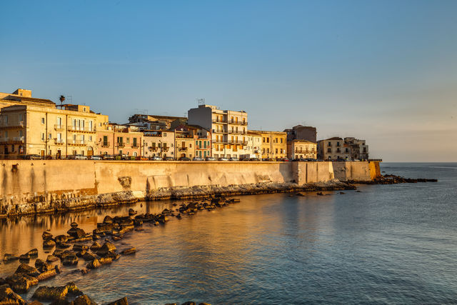 Rondreis Italië Sicilië Syracuse kust