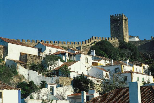 Rondreis Portugal Obidos historisch kasteel