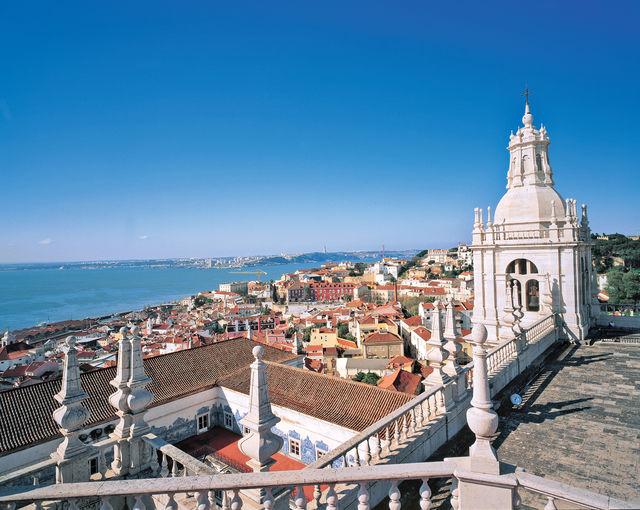 Rondreis Portugal Lissabon uitzicht