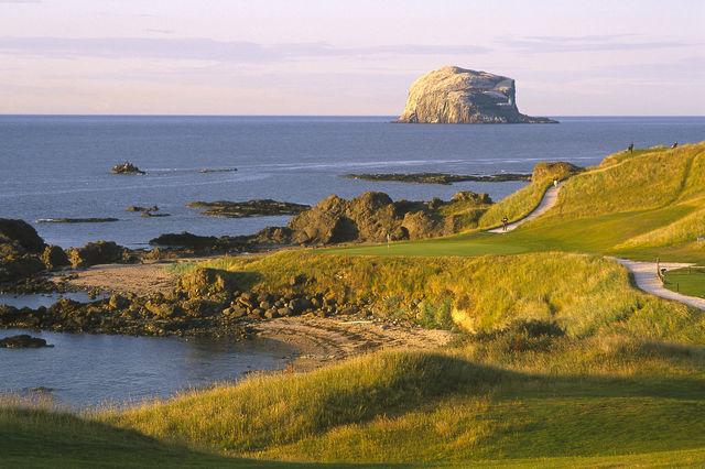kust East Lothian Schotland