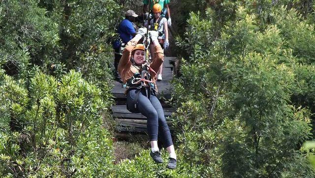 Rondreis Zuid-Afrika Tuinroute Tsitsikamma Canopy tour