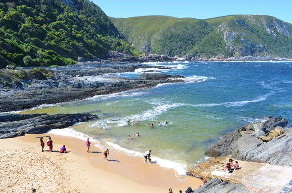 Rondreis Zuid-Afrika Tuinroute strand Tsitsikamma