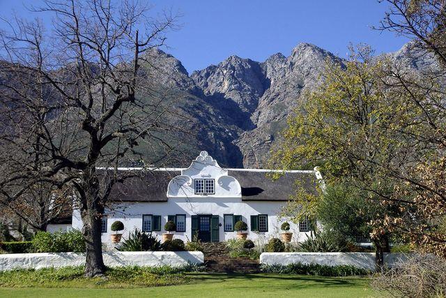 rondreis zuid-afrika kaaps huis Tulbagh
