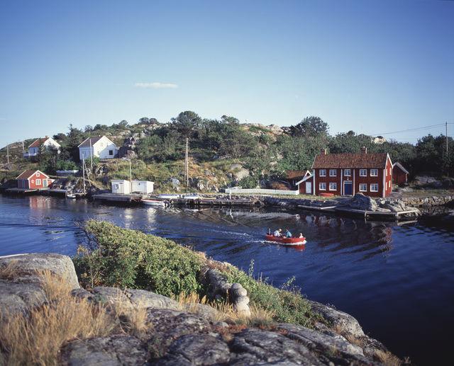 Ulvøysund voorhaven Noorwegen