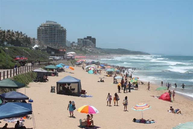 rondreis zuid-afrika durban strand
