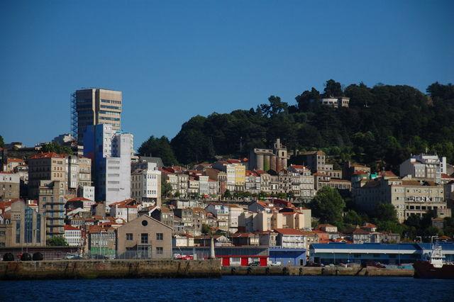 Vigo stad Galicië Spanje