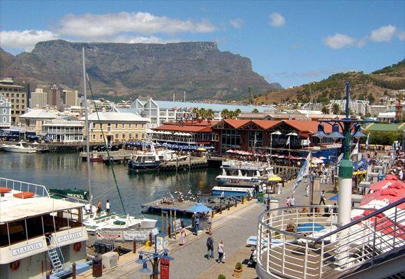 Rondreis Zuid-Afrika Kaapstad V&A Waterfront aanzicht