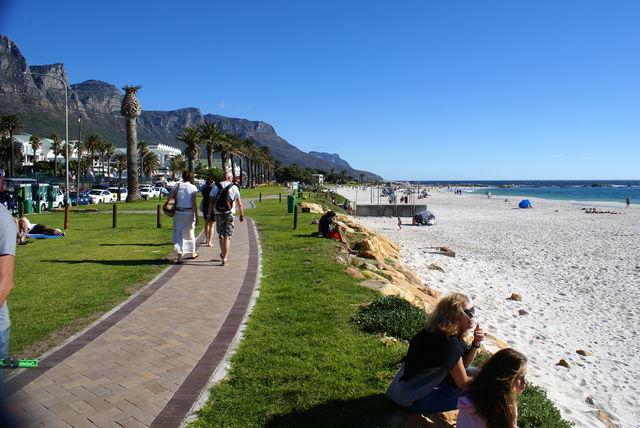 rondreis zuid-afrika kaapstad camps bay boulevard