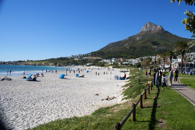Camps Bay bij Kaapstad