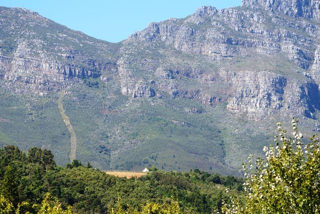 rondreis zuid-afrika landschap stellenbosch