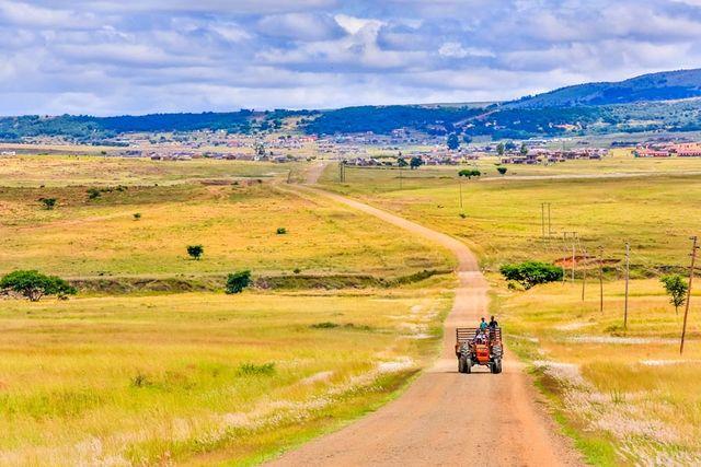 rondreis zuid-afrika Zululand landschap