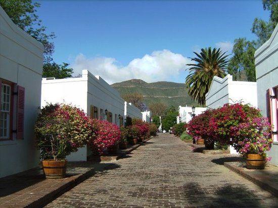 Rondreis Zuid-Afrika Graaff-Reinet straatje