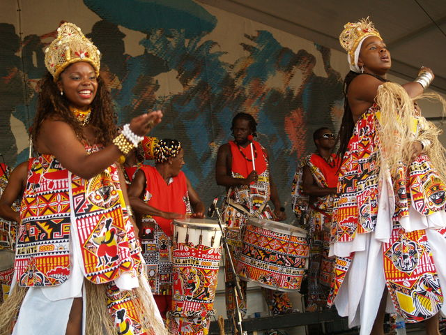 New Orleans Jazz & Haritage Festival